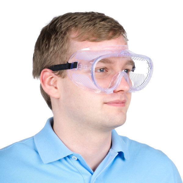 Perforated General Purpose Safety Goggles