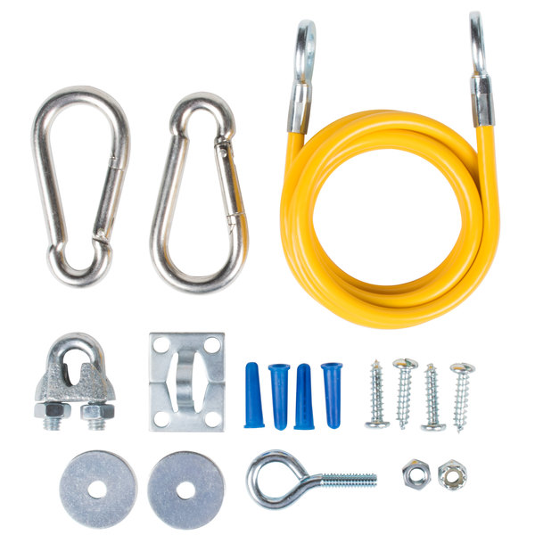 """T&S AG-RC 60"""" Gas Equipment Restraining Cable Main Image 1"""