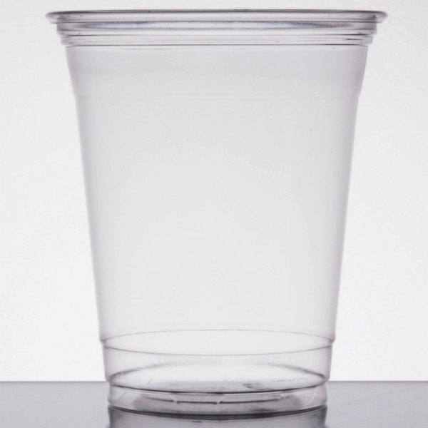Dart Solo UltraClear TP12 12 oz. Clear PET Plastic Cold Cup - 1000/Case