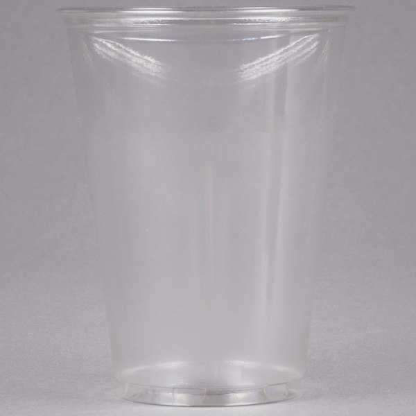 Dart Solo UltraClear TP10D 10 oz. Clear PET Plastic Cold Cup - 1000/Case