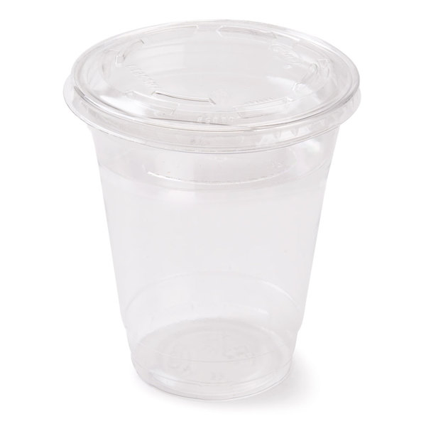 12 Oz Parfait Cup With 4 Oz Fabri Kal Insert And Flat