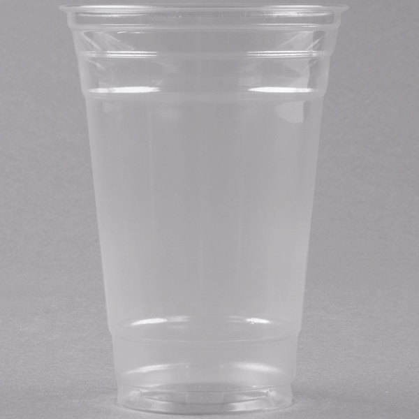 Dart Solo UltraClear TP20 20 oz. Clear PET Plastic Cold Cup - 600/Case