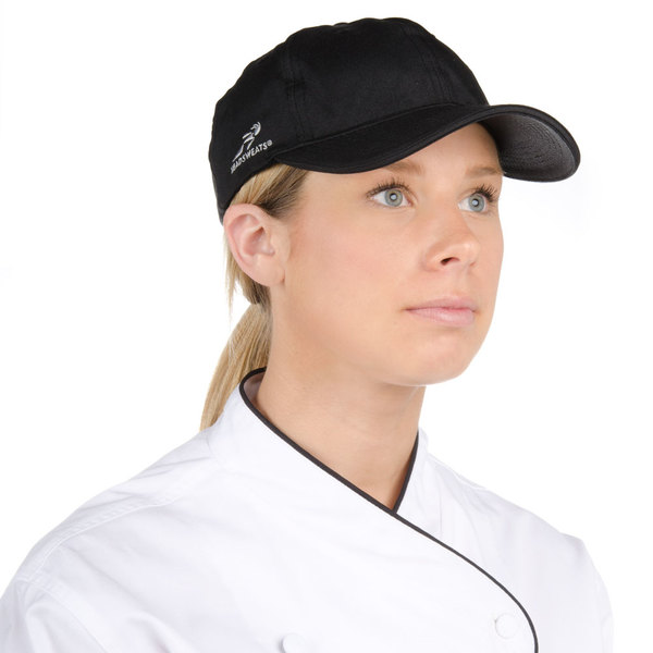 Black Headsweats 7706-402 Chef Cap