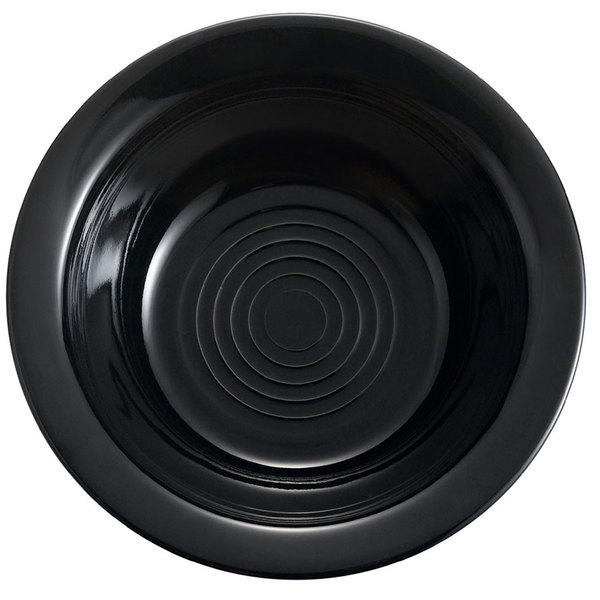 CAC TG-10-BLK Tango 13 oz. Black Grapefruit Bowl - 36/Case