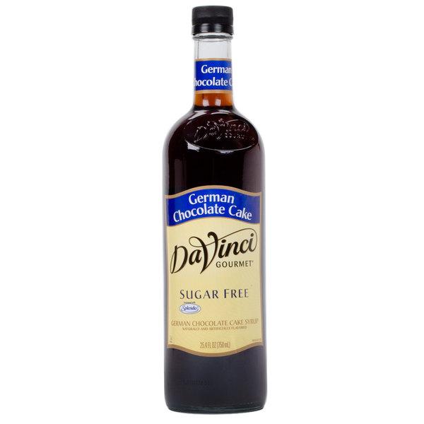 DaVinci Gourmet 750 mL German Chocolate Cake Sugar Free Coffee Flavoring Syrup