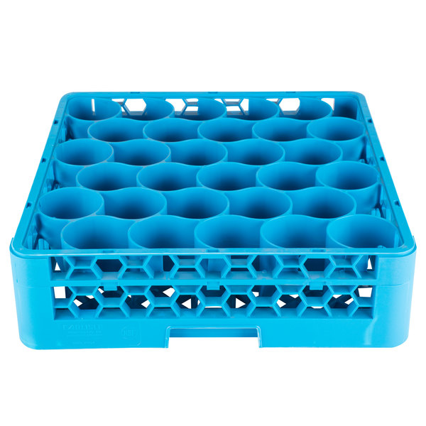 Carlisle RW3014 OptiClean NeWave 30 Compartment Glass Rack with 1 Extender