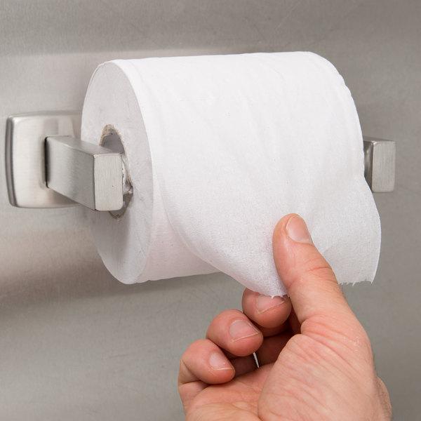 Bobrick B-76857 ClassicSeries Surface-Mounted Toilet Tissue Dispenser with Satin Finish Main Image 3