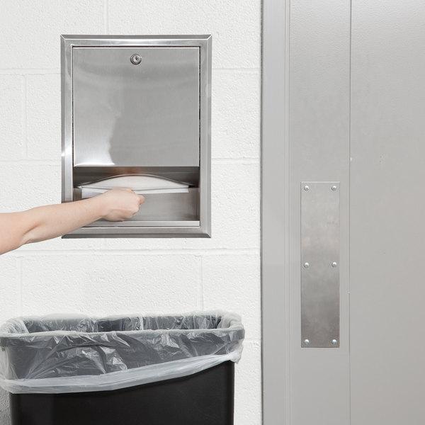 Bobrick B-359 C Fold or Multifold Recessed Paper Towel Dispenser
