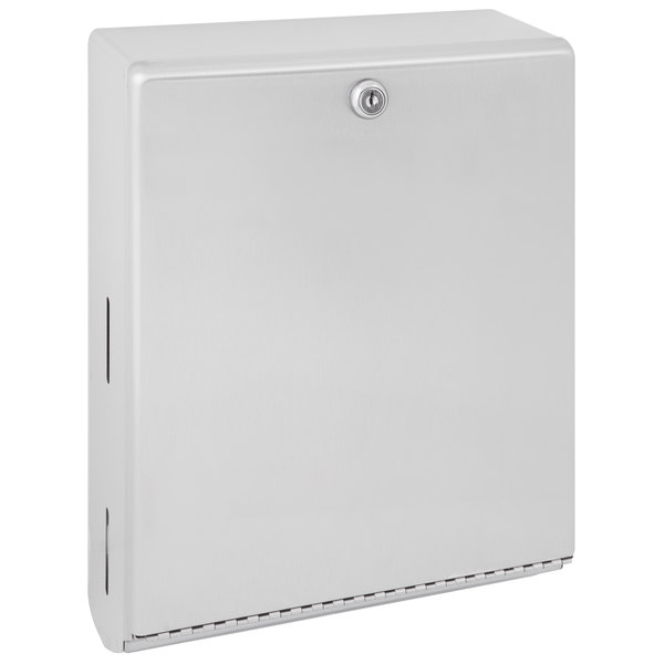 Bobrick B-262 ClassicSeries C Fold or Multifold Surface-Mounted Paper Towel Dispenser