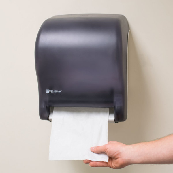 Touch Free Instant Gratification This Paper Towel Dispenser