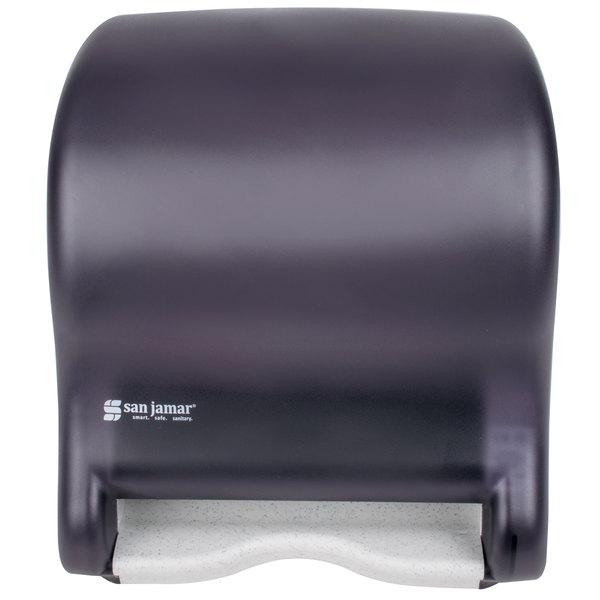 San Jamar T8000tbk Tear N Dry Hands Free Towel Dispenser