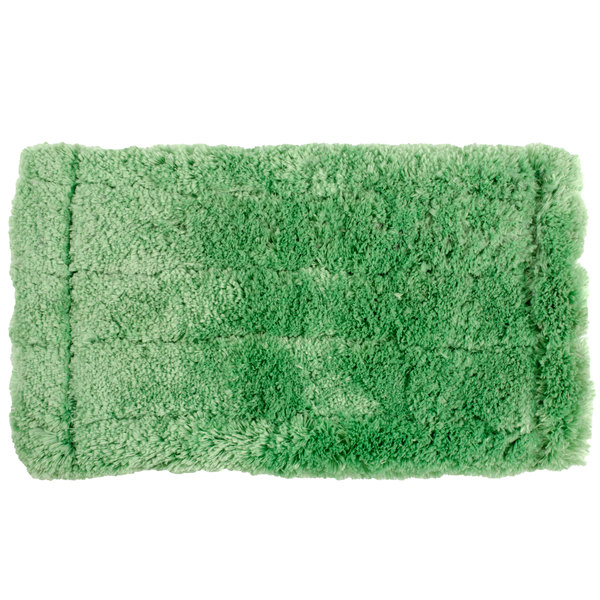 "Unger PHW20 8"" Green Microfiber Washing Pad"