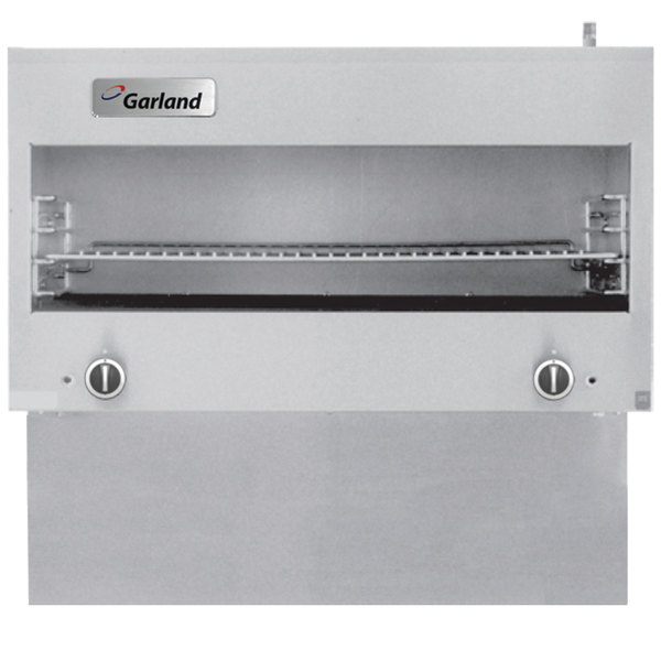 Garland GIRCM36 Liquid Propane Range-Mount Infra-Red Cheese Melter for G36 Series Ranges - 30,000 BTU Main Image 1