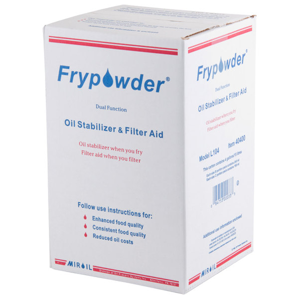 2 Gallon MirOil L106 Frypowder - 2/Case