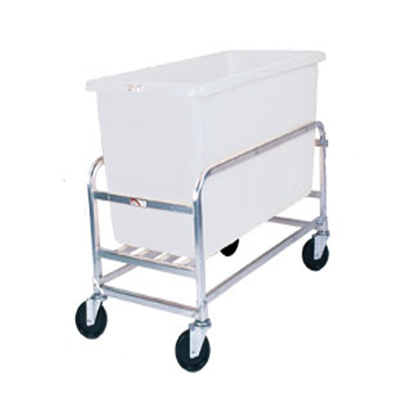 Winholt 30-8-AL/WH Aluminum Bulk Mover with 8 Bushel White Tub