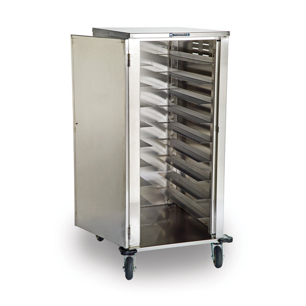 Lakeside 5710 Stainless Steel Elite Series Tray Cart - 10 Tray Capacity Main Image 2