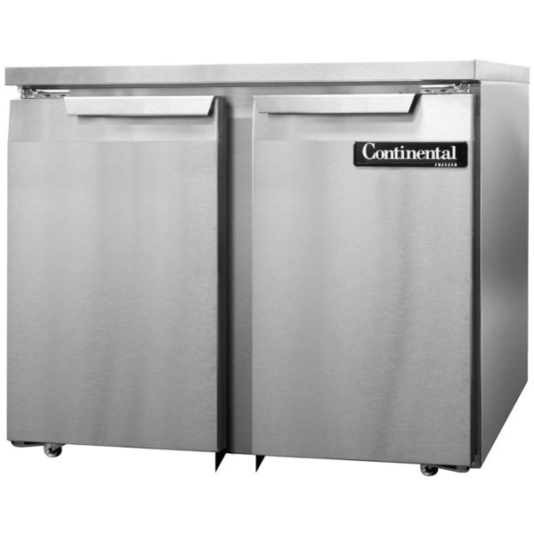 "Continental Refrigerator SWF36-U 36"" Low Profile Undercounter Freezer Main Image 1"