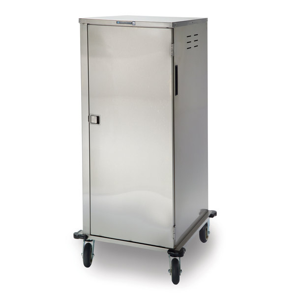 Lakeside 5624 Stainless Steel Elite Series Tray Cart - 24 Tray Capacity Main Image 1