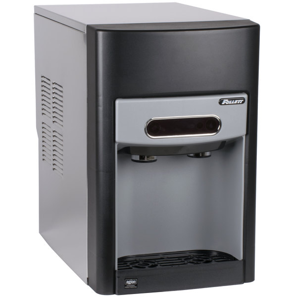 Follett 15CI100A-IW-NF-ST-00 15 Series Air Cooled Countertop Ice Maker and Water Dispenser - 15 lb. Storage