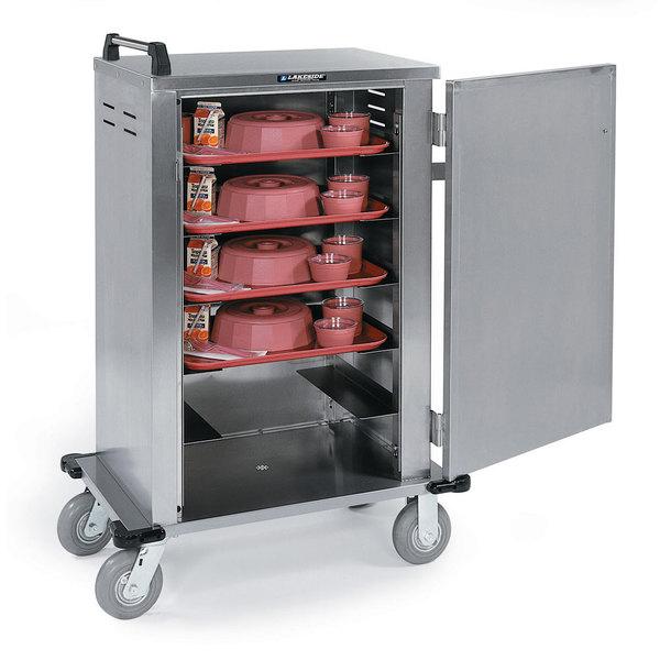 Lakeside 5500 Stainless Steel Elite Series Tray Cart - 6 Trays Capacity Main Image 1