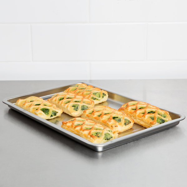 Waring WCO250TR Quarter Size 22 Gauge Stainless Steel Baking Pan for WCO250 Series Convection Ovens