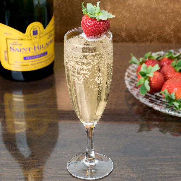 Arcoroc 37298 Elegance 5.75 oz. Champagne Flute by Arc Cardinal - 48/Case Main Image 6
