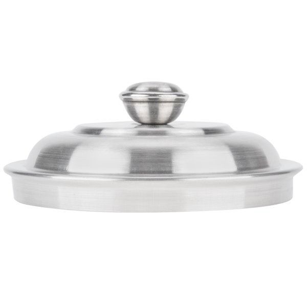 American Metalcraft Olid 3 3 4 Mini Stainless Steel Trash Can Lid For Oscar