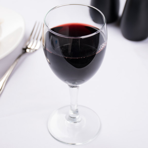 Arcoroc 50143 Elegance 10.5 oz. Glass Goblet by Arc Cardinal - 36/Case Main Image 6