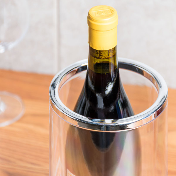 Clear Acrylic Wine Cooler