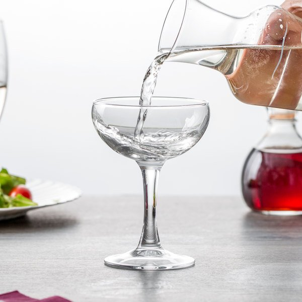 Arcoroc 37652 Elegance 5.25 oz. Coupe Glass by Arc Cardinal - 48/Case
