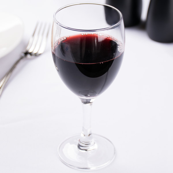 Arcoroc 37413 Elegance 6 oz. Wine Glass by Arc Cardinal - 48/Case Main Image 6