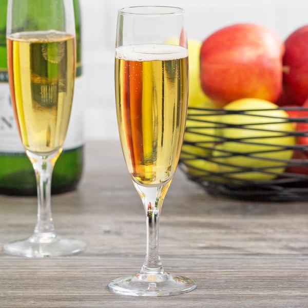Arcoroc 56416 Elegance 4.5 oz. Champagne Flute by Arc Cardinal - 48/Case Main Image 6