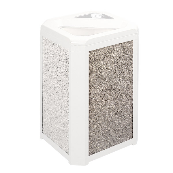 Rubbermaid FG400200CORL Coral Aggregate Panel for FG396600 and FG396700 Landmark Series Classic Containers Main Image 1