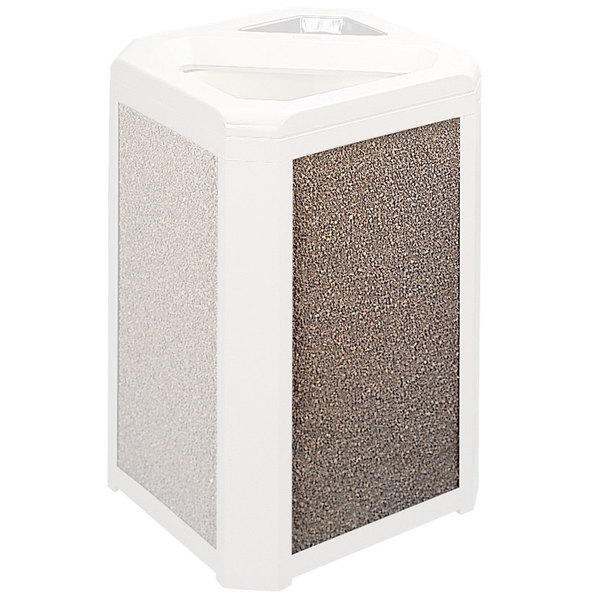 Rubbermaid FG400200ROCK River Rock Aggregate Panel for FG396600 and FG396700 Landmark Series Classic Containers