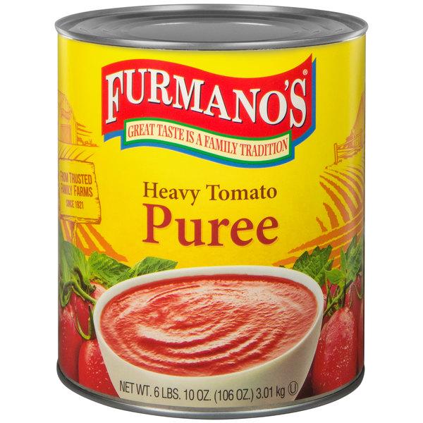 Furmano's #10 Can Heavy Tomato Puree - 6/Case