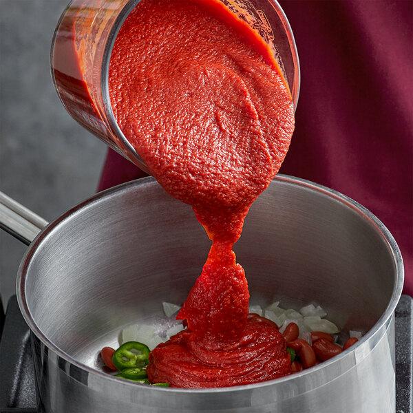 Furmano's #10 Can Heavy Tomato Puree - 6/Case Main Image 2