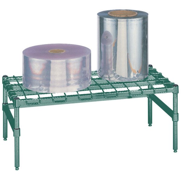 """Metro HP52K3 30"""" x 24"""" x 14 1/2"""" Heavy Duty Metroseal 3 Dunnage Rack with Wire Mat - 1600 lb. Capacity"""