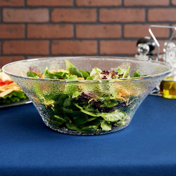 Carlisle SB9407 6 Qt. Pebbled Serving/Salad Bowl