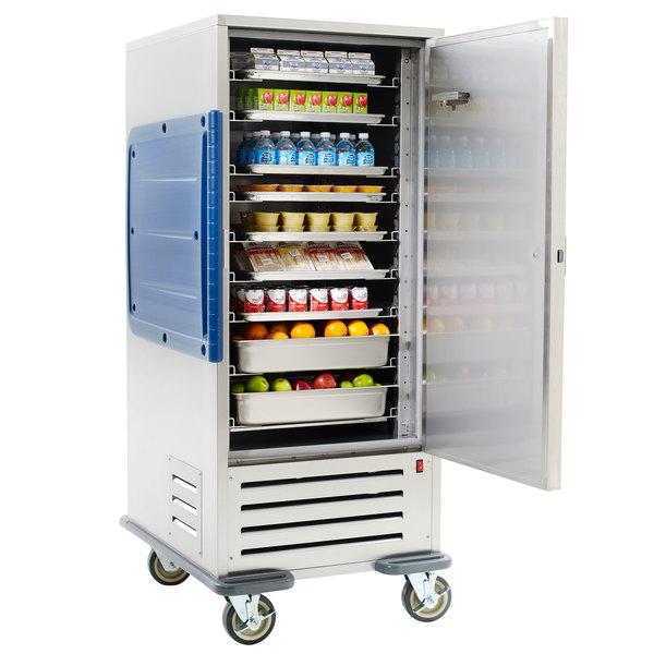 Metro C5R9 SB Single Door Refrigerated Cabinet With Adjustable Bottom Load  Slides   120V