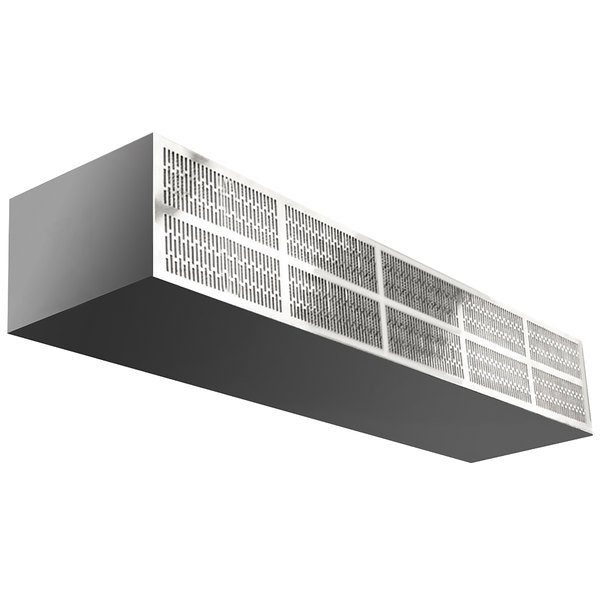 "Curtron E-CFD-60-2 60"" Commercial Front Door Air Curtain with Electric Heater - 208V, 3 Phase"