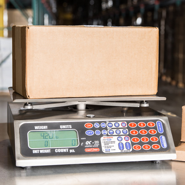 Tor Rey QC-20/40 40 lb. Table Top Counting Scale Main Image 6
