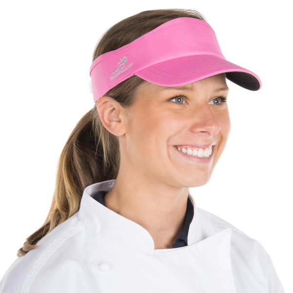 Headsweats 7714-269 Pink Eventure Fabric Customizable Velocity Visor
