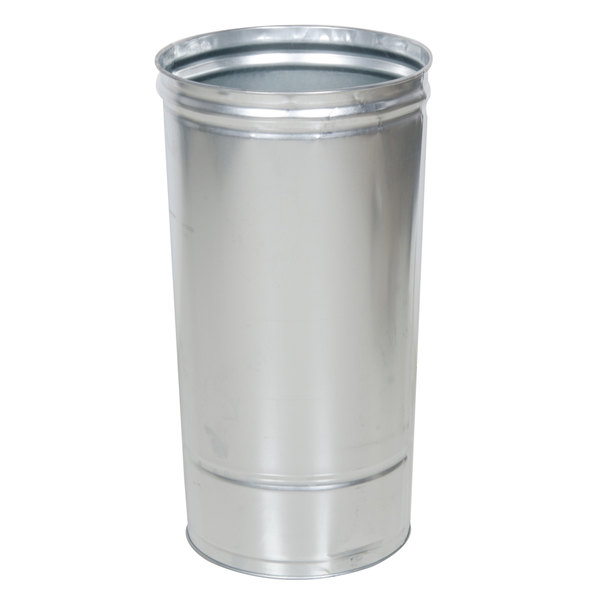 Rubbermaid FGGL1536ST Round Galvanized Liner for FGAOU20, FGR1536ST Containers 15 Gallon