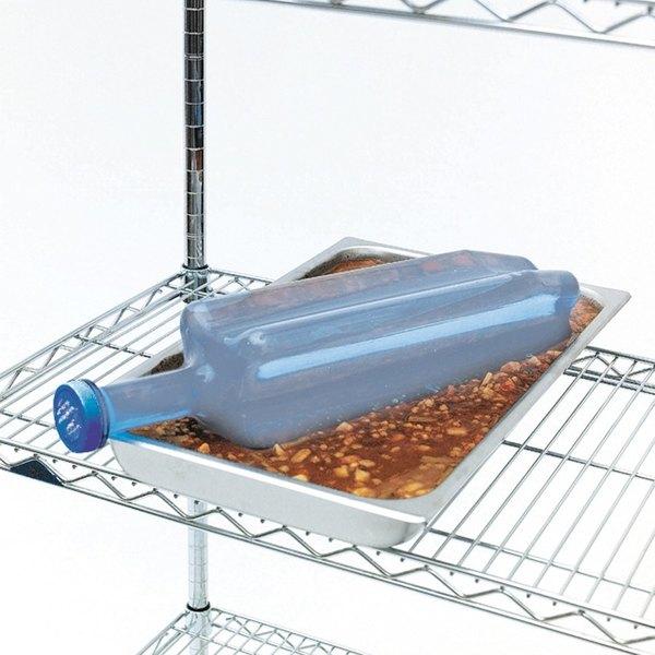 San Jamar RCU1282 Rapi-Kool® 128 oz. Rapid Cooling Paddle - 2/Pack