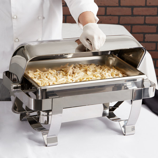 Vollrath 46520 9 Qt. Orion Retractable Chafer Full Size
