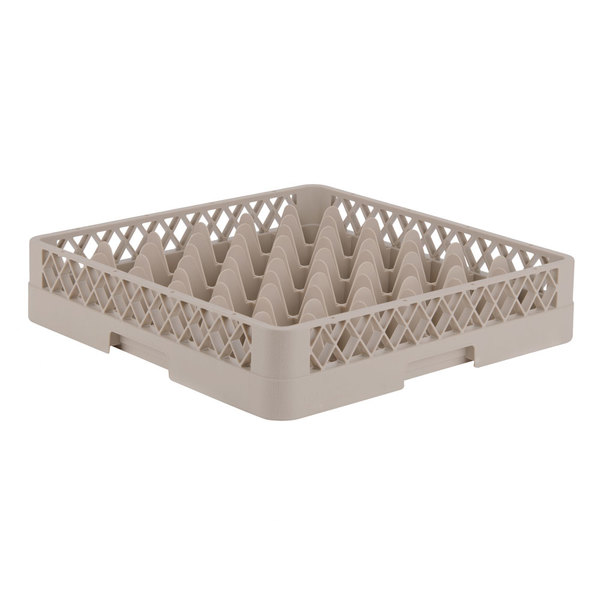 """Vollrath TR7 Traex® Full-Size Beige 36-Compartment 3 1/4"""" Glass Rack Main Image 1"""