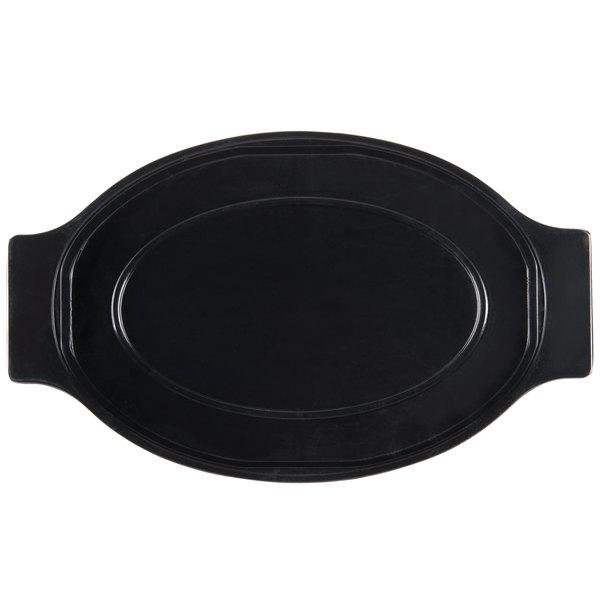 Oval Sizzler Platter Thermal Underliner