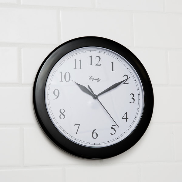 "10"" Diameter Wall Clock Main Image 7"
