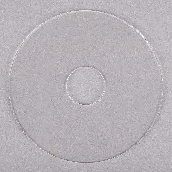 """Noble Products 4 1/4"""" Clear Plastic Disk for Label Dispenser"""