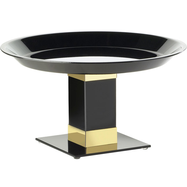 "Cal-Mil 319-12-B7 12"" x 7"" Gold Trim Acrylic Pedestal Main Image 1"
